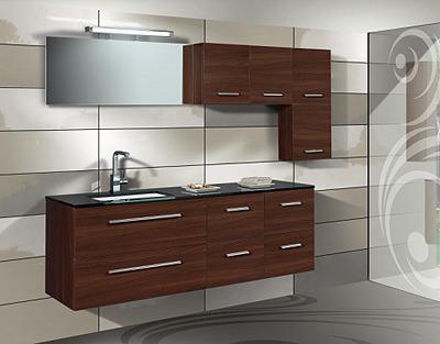 Fotos de muebles de ba o con placa de marmol natural con for Muebles rattan montevideo